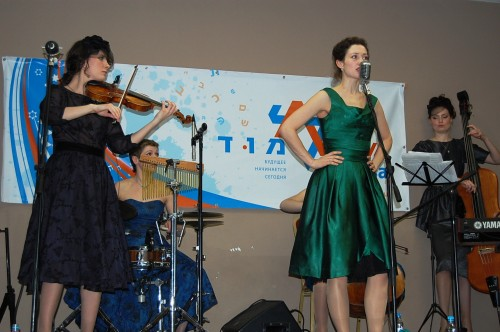 """The pop group """"Tatiana,"""" one of the best known musical ensembles in Russia performs at Limmud FSU Moscow 2011."""