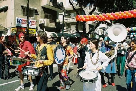 Tel Aviv Purim parade