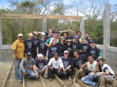 Participating YU students on Nicaragua Mission