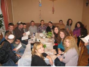 Kiev Moishe House Pesach 2013; courtesy.