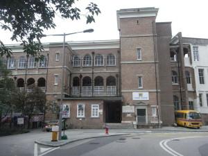 HK Mid-levels Carmel School building facade June-2011