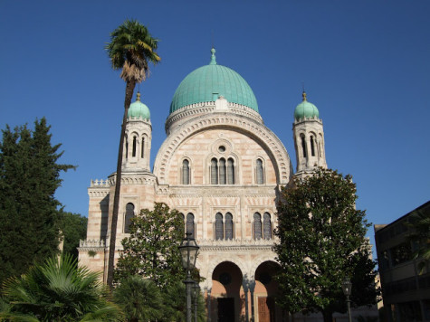 The Synagogue in Florence, Italy.
