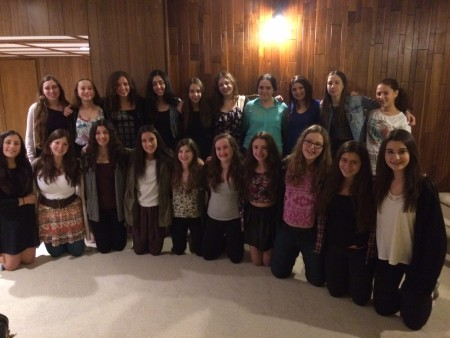 AZA and BBG Global Shabbat in Winnipeg.