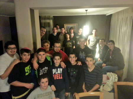 AZA and BBG Global Shabbat in Bulgaria.