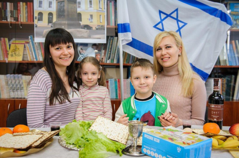 Ukraine seder 2014
