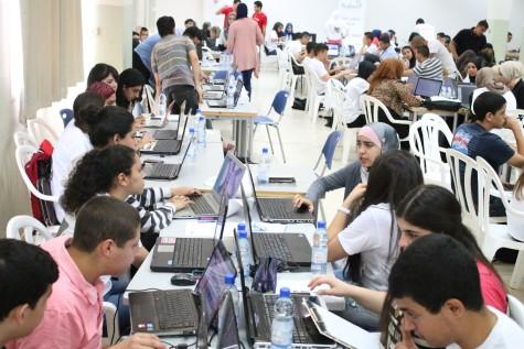 High school Hackathon in Umm al-Fahem, May 2014
