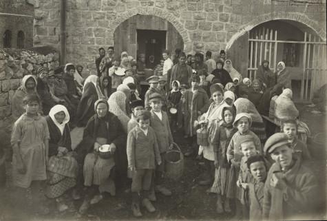 Dreyfus Soup Kitchen, Jerusalem, 1921, photographer unknown;  courtesy JDC.