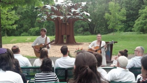 Shabbat services at URJ Camp Eisner, summer 2012; courtesy.