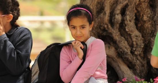 A child victim of terror participates in a Jewish-Agency-run respite camp; photo courtesy The Jewish Agency.