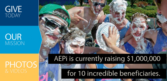 For more information, and to visit aepigivesback.org, click the image.