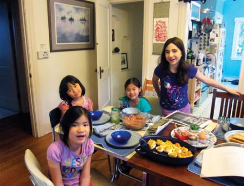Lucy, Lia, Abby and Hannah