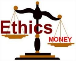 ethics:money scale
