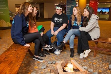 Teens at BBYO 2014 IC (International Convention); photo courtesy BBYO.