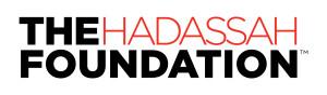 Hadassah Foundation logo 2015