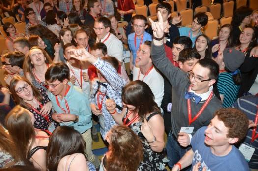 NFTY Convention 2015 - Opening Night Celebration; photo courtesy NFTY.