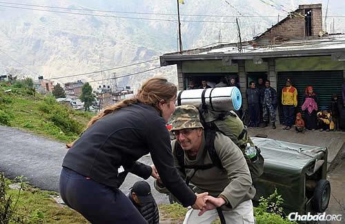 Photo courtesy Chabad.org/Nepal.
