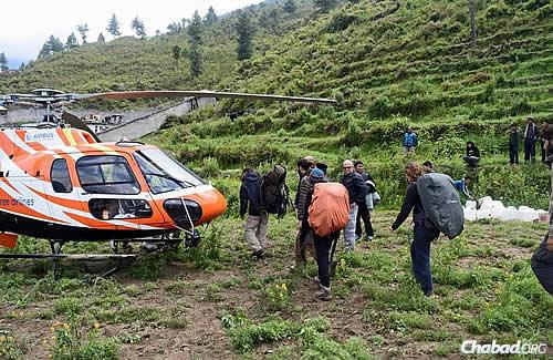 Photo courtesy Chabad.org/Nepal
