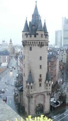 Eschenheimer Tower;  photo by Rhonda Spivak