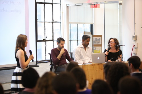 At the recent NYC Launch night program, the Fellows pitched their ideas to a panel with backgrounds in technology, startups and the social innovation sector.