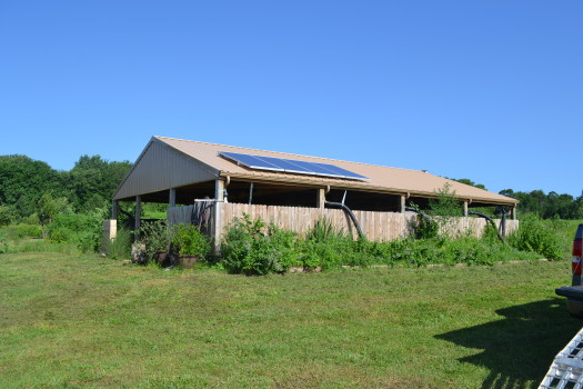 KC MItzvah Garden barn