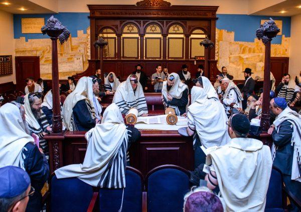 Kazan synagogue rededication