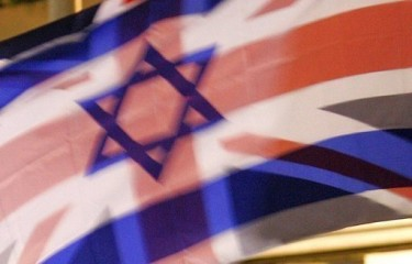 UK Israel flag