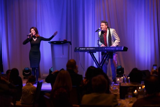 Performing at the Gala, the talented Irina Rosenfeld and Leonid Ptashka. Photos by Alexei Malakhov.