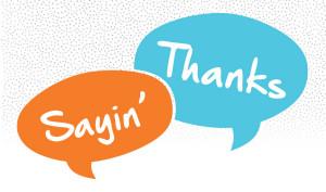 Saying thanks (DC)
