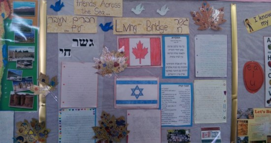 Friends Across the Sea - A Curriculum on Jewish Peoplehood; photo courtesy P2G