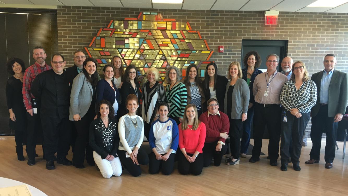 Graduates of the 2015-2016 Jewish Nonprofit Leadership Institute.