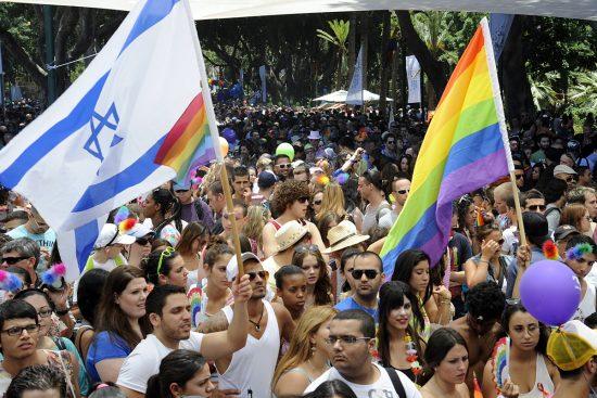 Jerusalem Gay Pride Parade 2012