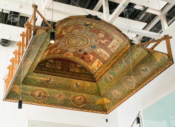 Model of Chodoro?w Synagogue Ceiling (Mid-17th Century – WWII), Galicia, present-day Western Ukraine