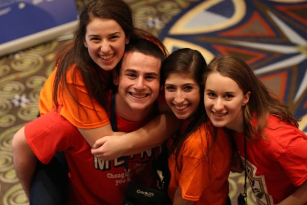 United Synagogue Youth's 2014 national convention; photo courtesy USCJ.