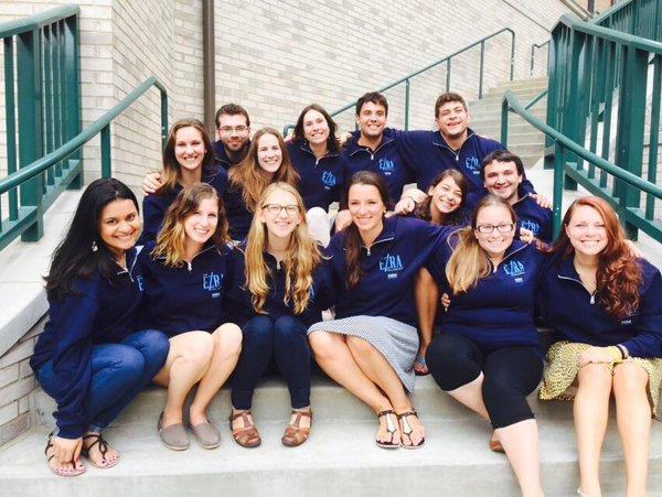 The second cohort of Hillel International Ezra Fellows; photo courtesy Hillel International.