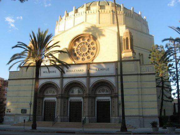 Wilshire Boulevard Temple; photo by Downtowngal via Wikimedia.